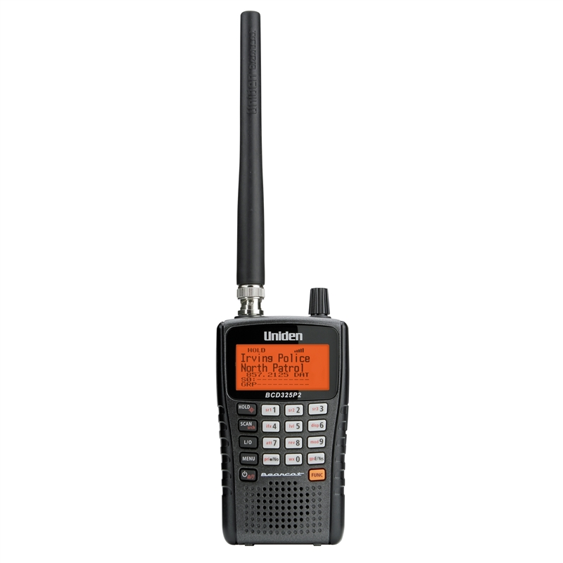 Police Scanners For Sale >> Uniden Bearcat BCD325P2 Police Scanner Radio | Scanner Master