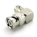 BNC Right-Angle Connector Male/Female