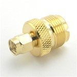 UHF Female to SMA Male Connector