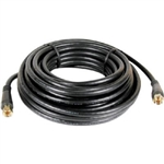 RG-6 Coax Cable, 25', F Male to F Male