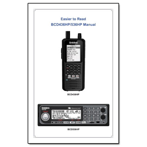 uniden bearcat bc145xl scanner manual