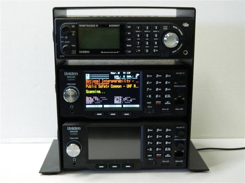 SpectrumForce Desk Mount for Three Base Scanners