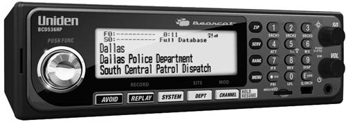 Uniden BCD536HP, Uniden, BCD536HP, bearcat, sds200, sds100, 536, scanner, police scanner