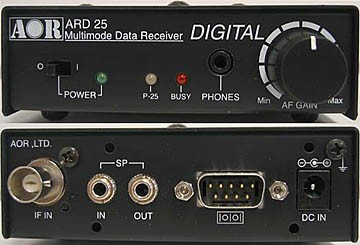 AOR ARD25 Digital Decoder   Scanner Master