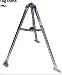 Heavy Duty Galvanized 3' Tripod