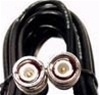RG58 Jumper Cable, 1', BNC Male to BNC Male