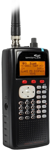 WHISTLER WS1040 Digital Handheld Scanner