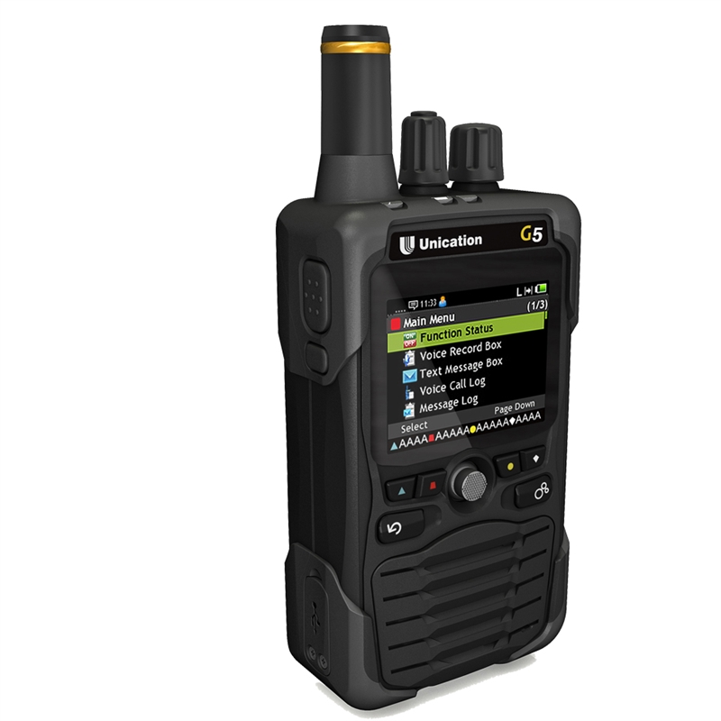 Unication G5 Dual Band VHF & 700-800MHz Voice Pager-Receiver | ScannerMaster.com